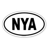 NYA Oval Decal