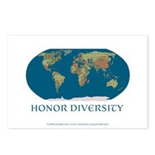 Honor Diversity Postcards (Package of 8)