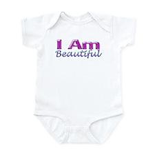 I Am Beautiful Infant Bodysuit