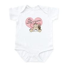 My Heart Belongs to Grammy GI Infant Bodysuit
