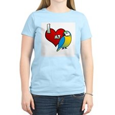 Love Blue & Gold Macaw T-Shirt