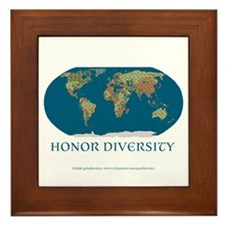 Honor Diversity Framed Tile