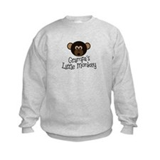 Grampa's Little Monkey BOY Sweatshirt
