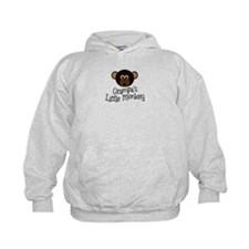 Grampa's Little Monkey BOY Hoodie
