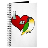 I Love My Black-Headed Caique Journal