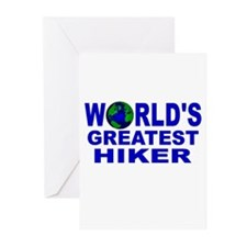 World's Greatest Hiker Greeting Cards (Pk of 10)