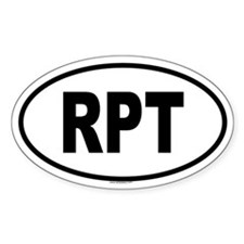 RPT Oval Decal