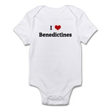 I Love Benedictines Infant Bodysuit
