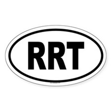 RRT Oval Decal