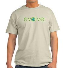 Evolve - planet earth T-Shirt