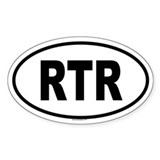 RTR Oval Decal