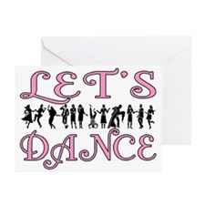 Let's Dance Greeting Cards (Pk of 10)