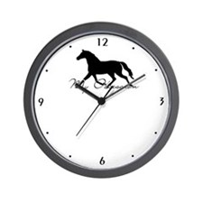 Horse Obsession Wall Clock