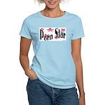 Porn Star Women's Pink T-Shirt