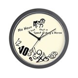 No Hour is lost Wall Clock