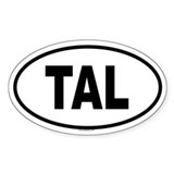 TAL Oval Decal