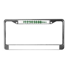 GREEN CREW License Plate Frame