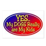 Yes My Dogs Postcards (Package of 8)