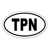 TPN Oval Decal