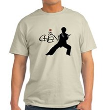 Chen Tai Chi<br>Large Graphic<br>Mens Light Tee