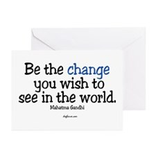Be The Change Greeting Cards (Pk of 10)