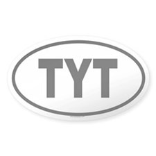 TYT Oval Decal