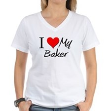 I Heart My Baker Shirt