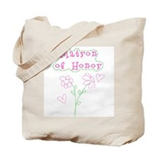 Flowers Matron of Honor Tote Bag