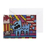 Cute Propellor Greeting Cards (Pk of 10)