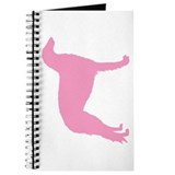 Pink Borzoi Dog Journal