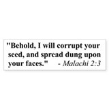 MALACHI 2:3