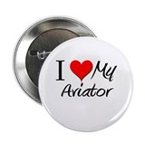 I Heart My Aviator 2.25&quot; Button