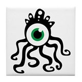 Tentacle Monster Tile Coaster
