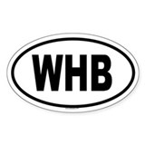 WHB Oval Decal