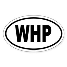 WHP Oval Decal
