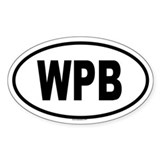 WPB Oval Decal