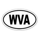 WVA Oval Decal