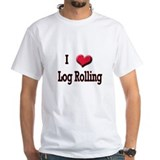 I Love (Heart) Log Rolling Shirt