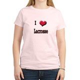 I Love (Heart) Lacrosse T-Shirt