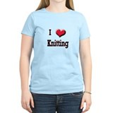I Love (Heart) Knitting T-Shirt