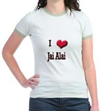 I Love (Heart) Jai Alai T