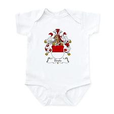 Deutz Family Crest Infant Bodysuit