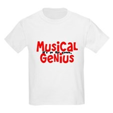 Musical Genuis Genes T-Shirt
