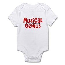 Musical Genuis Genes Infant Bodysuit
