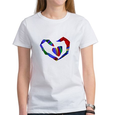 Abstract Heart Women's T-Shirt