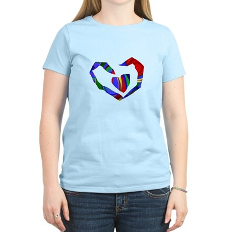 Abstract Heart Women's Light T-Shirt