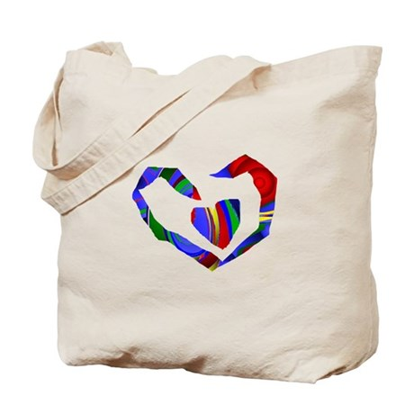 Abstract Heart Tote Bag