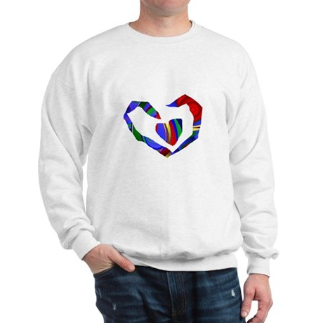 Abstract Heart Sweatshirt