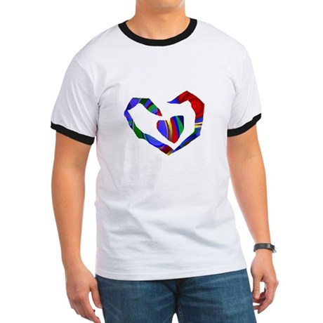 Abstract Heart Ringer T