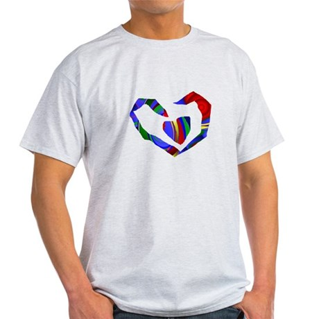 Abstract Heart Light T-Shirt